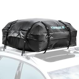 Rabbitgoo Rooftop Cargo Carrier Car Roof Cargo Bag Easy to I