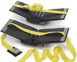 The Kayak Wing - Kayak Rack with Yellow Straps and Universal
