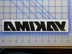 """Yakima Logo Decal Sticker 7"""" 9.5"""" 11"""" Roof Rack Load Bar Bik"""