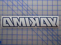 "Yakima Decal Sticker 12"" 15"" 19"" 23"" Roof Rack Load Bar Bike"